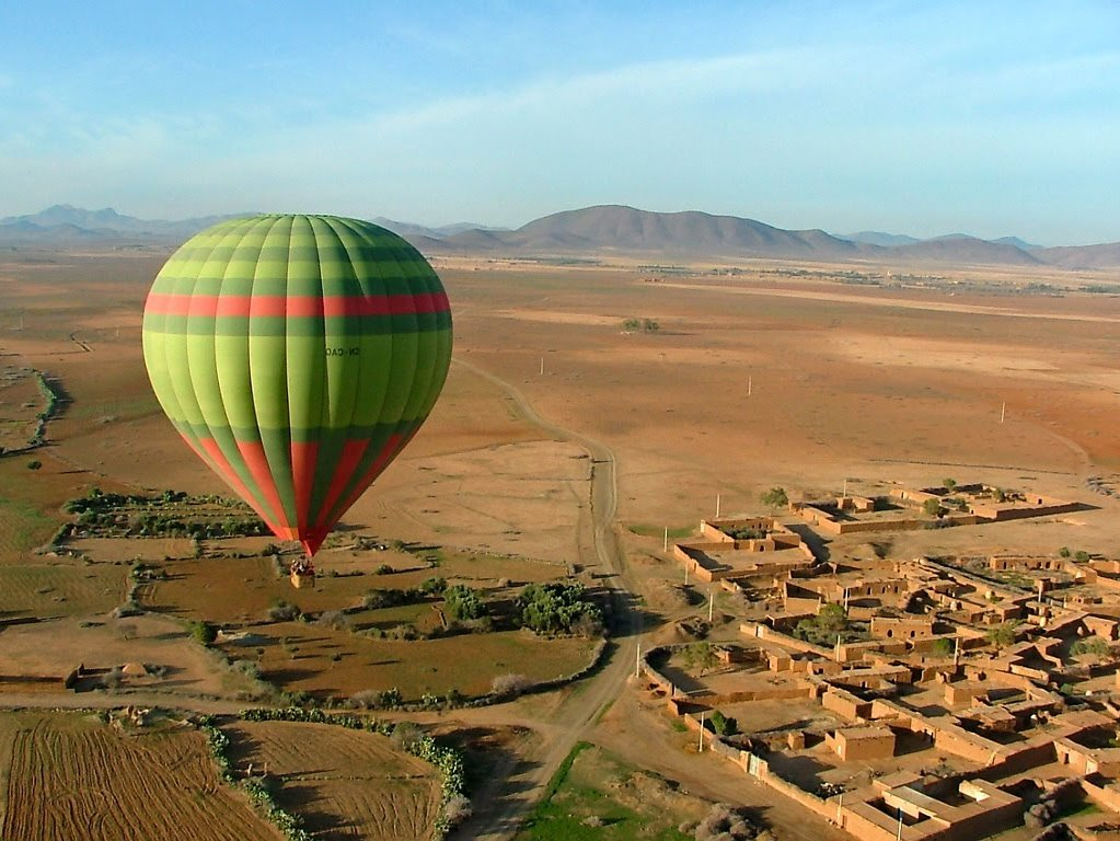 A Flight With the Hot Air Balloon