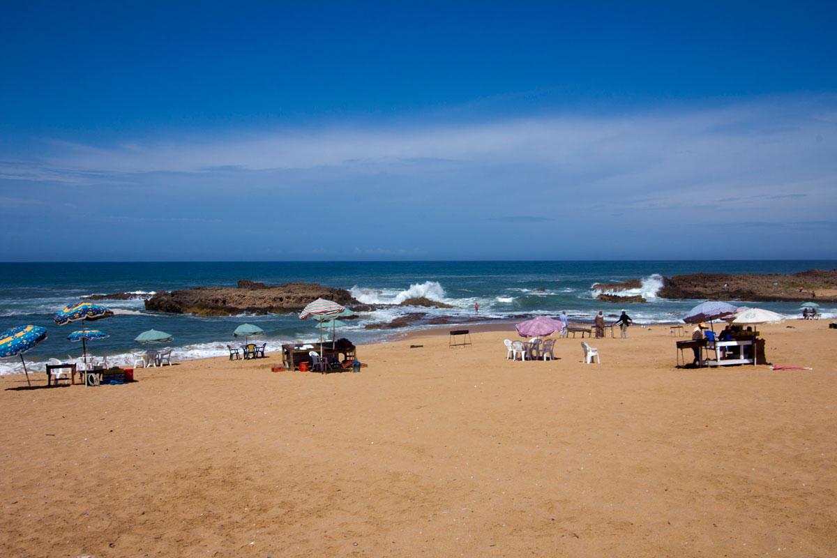 Oualidia Lagoon Beach